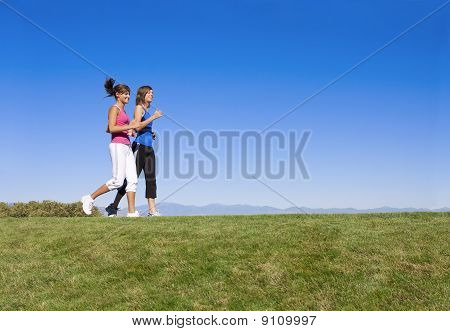 Women Jogging & Fitness