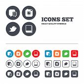picture of  photo  - Social media icons - JPG