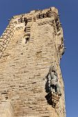 stock photo of william wallace  - A William Wallace Monument statue Stirling Scotland - JPG