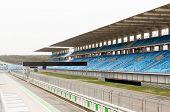 stock photo of bleachers  - racing - JPG