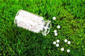 picture of placebo  - Homeopathy  pills - JPG