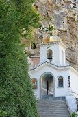 stock photo of crimea  - Assumption Monastery of the Caves Crimea - JPG