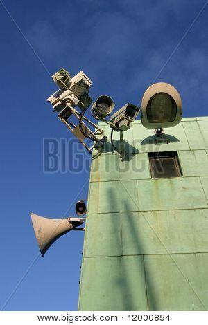Surveillance Equipment on Lifting Bridge