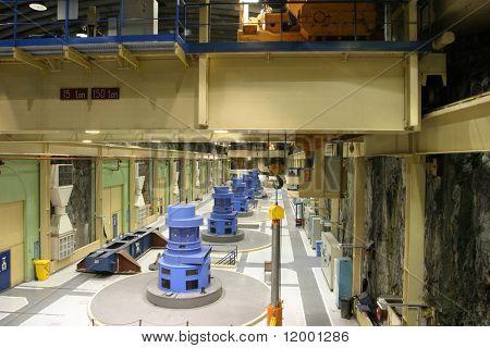 Subterráneas eléctricas generando estación, Nueva Zelanda