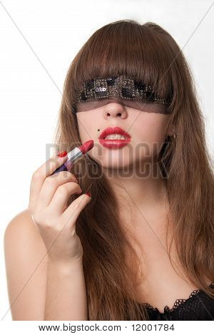 Blindfold And Lipstick
