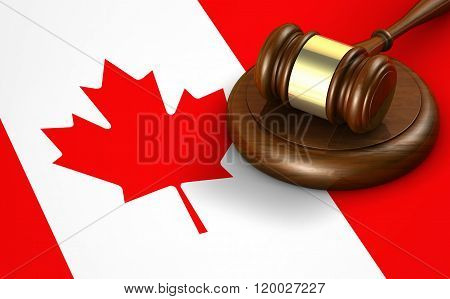 Canada Law Legal System Concept
