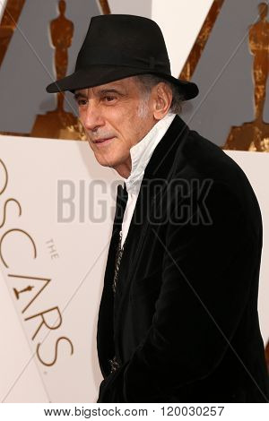 LOS ANGELES - FEB 28:  Ed Lachman at the 88th Annual Academy Awards - Arrivals at the Dolby Theater on February 28, 2016 in Los Angeles, CA