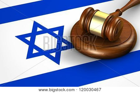 Israel Law Legal System Concept