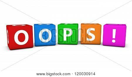 Oops Web Page Error