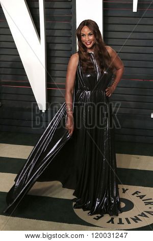 BEVERLY HILLS - FEB 28: Beverly Johnson at the 2016 Vanity Fair Oscar Party on February 28, 2016 in Beverly Hills, California