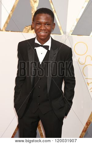 LOS ANGELES - FEB 28:  Abraham Attah at the 88th Annual Academy Awards - Arrivals at the Dolby Theater on February 28, 2016 in Los Angeles, CA