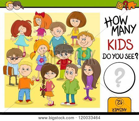How Many Kids Do You See