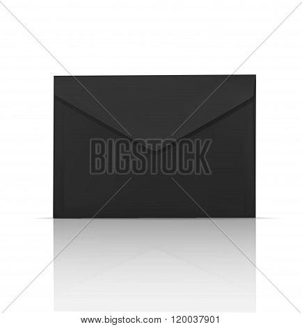 Black enevelope template