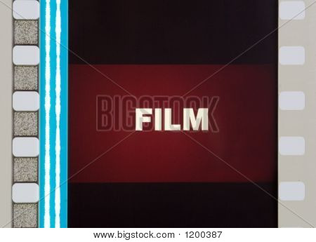 Film Frame Close Up
