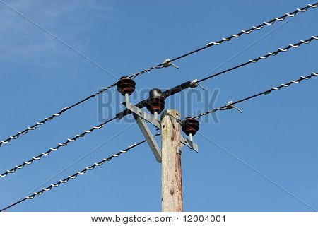 Electricity supply lines