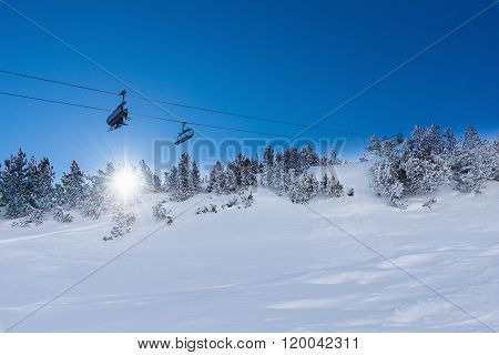 Chair Lift For Skiing