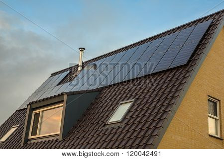 Inconspiciuous Solar Panel