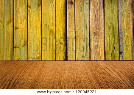 Yellow Wood Backdrop, Background Design, Motion Effect.