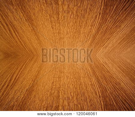 Wood Grain Mirror Image, Abstract Background Texture.