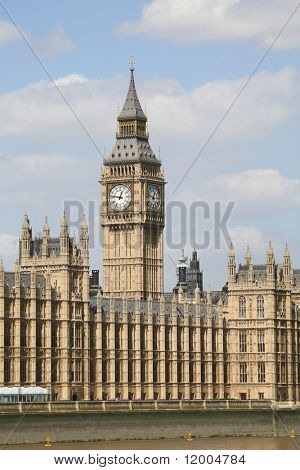 Big Ben and the Houses of Parliament, London, England