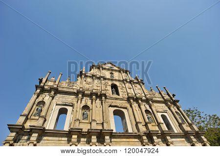 Ruins Of St. Paul's. Macau..