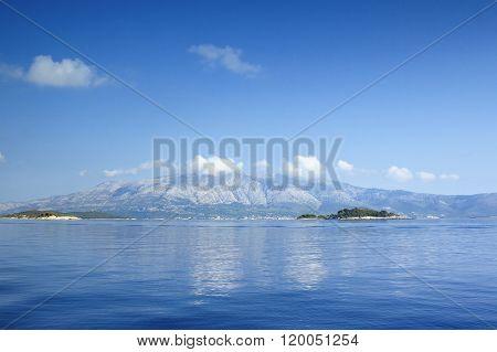 Adriatic sea in Croatia