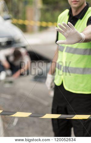 Crime Scene Entry