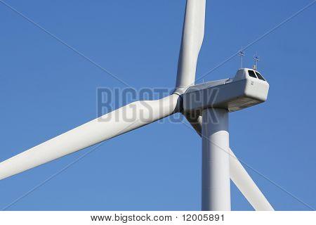 Vagem de rotor e controle de turbina eólica