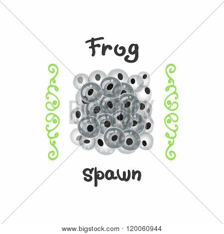Frog Eggs As A Delicacy.