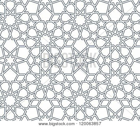 Vector Abstract Islamic Pattern.