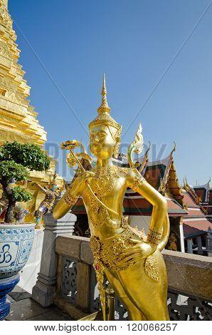 Emerald Buddha (Wat Phra Kaew) , Bangkok, Thailand