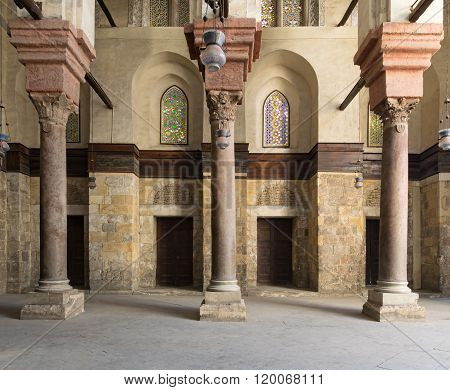 Cairo, Egypt - January 23, 2016: Interior of the