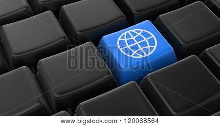 Globe key concept