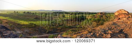 ubirr in kakadu national park, nt, australia