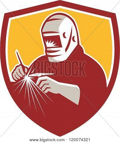 Tig Welder Welding Crest Retro