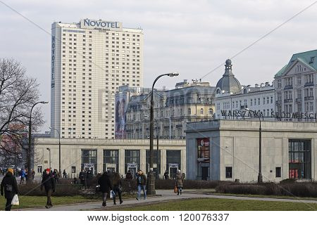 Novotel & The Ground Pavilions Of Railway Station