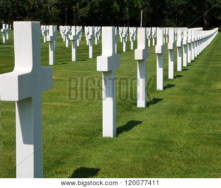 Lorraine American Cemetery and Memorial in France