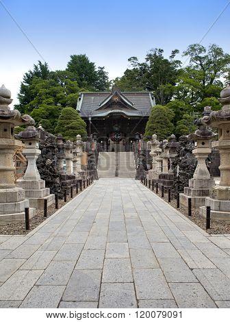 Niomon Gate at the Narita-San Temple Complex