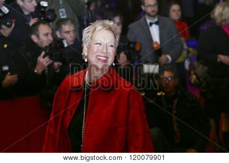 Doris Dorrie attends the 'Hail, Caesar!' Premiere during the 66th Berlinale International Film Festival on February 11, 2016 in Berlin, Germany.