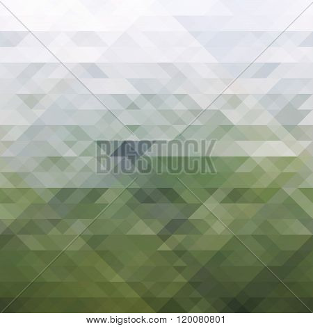Abstract gray-green background
