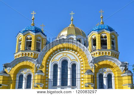 St. Vladimir Cathedral In Kiev