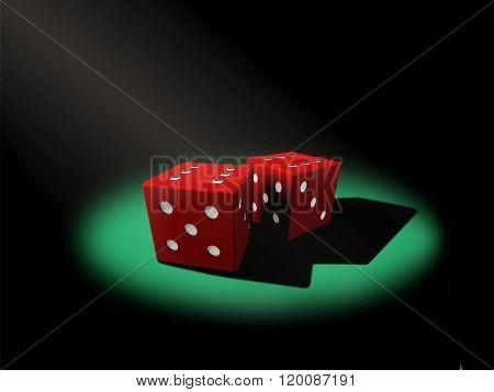 dices in online casino