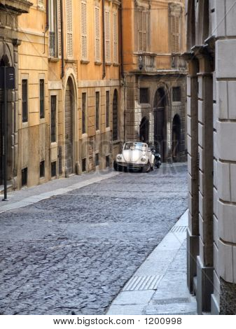 Italy Travel - Old Town Street