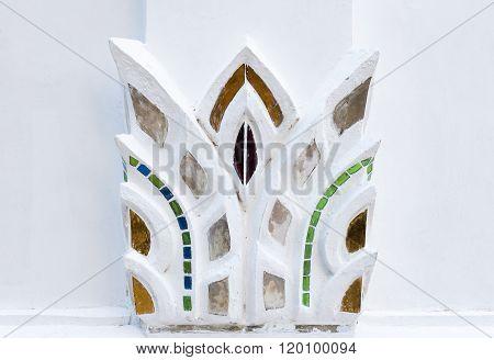 White Foliage Stucco