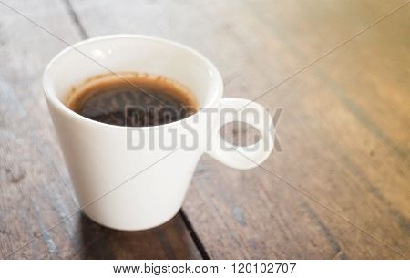 Cup Of Hot Espresso Shot