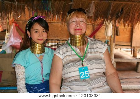 Long Neck Women In Karen Village