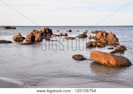 Bunker Bay: Granite Boulders