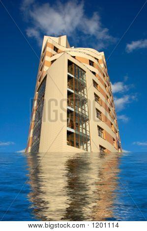 Sinking Skyscraper