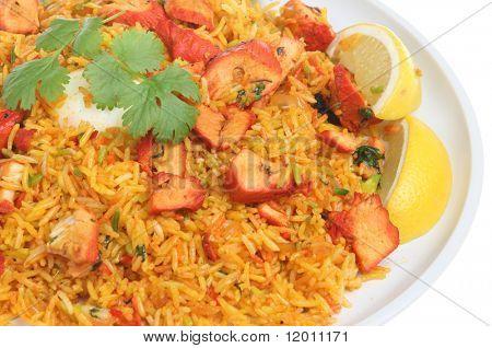 Chicken Tikka Lamezia Curry mit Ei