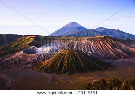 Sunrise At Mount Bromo Volcano, Indonesia.